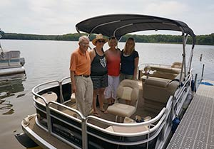 Boat Rentals on Iron Lake in Wisconsin